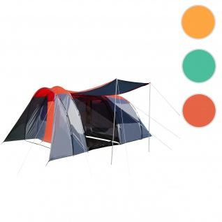 Campingzelt HWC-A99, 6-Mann Zelt Kuppelzelt Festival-Zelt, 6 Personen