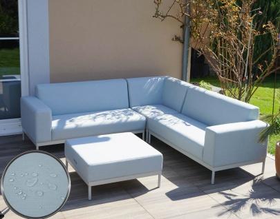 Alu-Garten-Garnitur HWC-C47, Sofa, Outdoor Textil