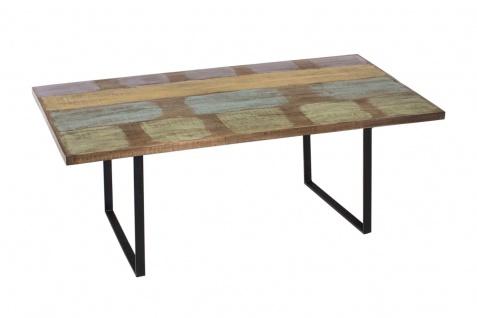 Essszimmertisch CP525, Esstisch Tisch, recyceltes Teakholz, Handarbeit