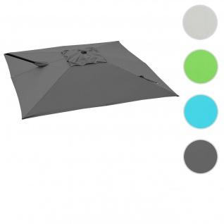 Bezug für Ampelschirm HWC-A39, Sonnenschirmbezug Ersatzbezug, 3x3m (Ø4, 24m) Polyester 2, 8kg