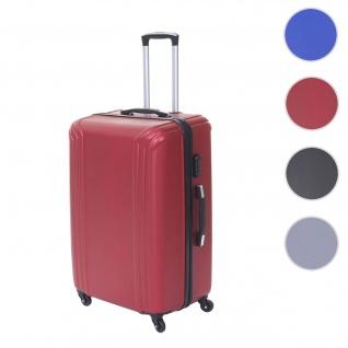 Koffer HWC-D54, Reisekoffer Hartschalenkoffer Trolley, 60x42x26cm 64l