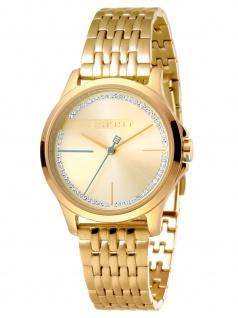 Esprit ES1L028M0075 Joy Gold MB. Uhr Damenuhr Edelstahl Gold