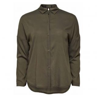 Only Damen Bluse Damenbluse LANTA L/S Shirt WMN Grün Gr. 38