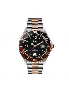 Ice-Watch 016546 ICE Steel Chic Silver rose-gold M Uhr Datum bicolor