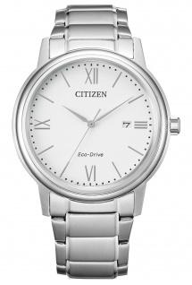 Citizen AW1670-82A Eco Drive Uhr Herrenuhr Edelstahl Datum silber