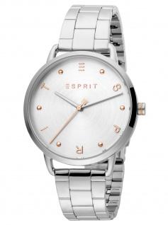 Esprit ES1L173M0055 Fun Silver MB Uhr Damenuhr Edelstahl silber