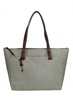 Fossil Damen Handtasche Tasche Shopper Rachel TZ Tote Beige