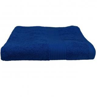 Julie Badetuch Royalblau Frottee Baumwolle 500g/m2 Handtuch 100 x 150 cm