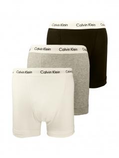 Calvin Klein Herren Unterwäsche Boxershort 3er Pack Trunk S Mehrfarbig