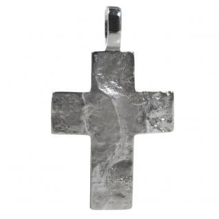 Basic Silber SKE54 Herren Anhänger Kreuz Silber