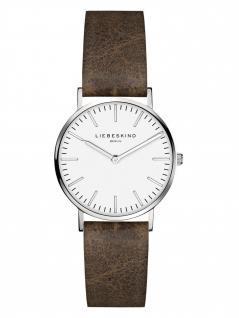 LIEBESKIND LT-0090-LQ Uhr Damenuhr Lederarmband Braun