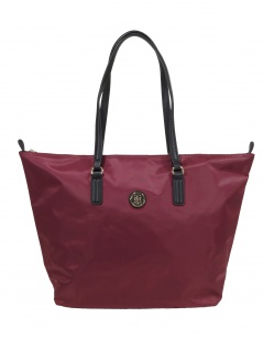 Tommy Hilfiger Damen Handtasche Tasche Shopper Poppy Tote Rot
