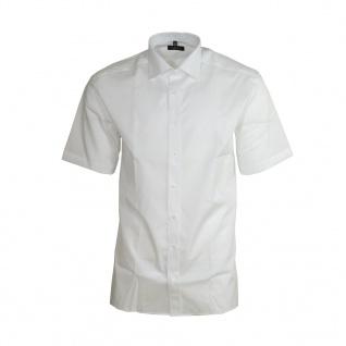 Eterna Herrenhemd Kurzarm Modern Fit Weiß XL/44 Hemden 8623/00/C177