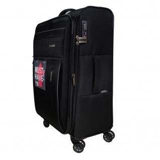 Travelite Capri 4 Rollen Schwarz 76 cm Trolley Koffer 98 L 89849-01 - Vorschau 2