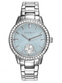 Esprit ES109482001 SILVER TONE Uhr Damenuhr Edelstahl Silber