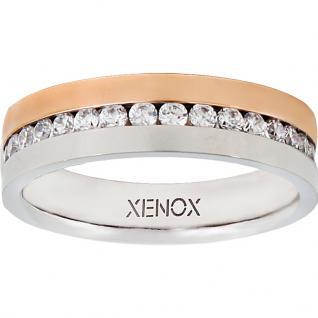 XENOX X2245-52 Damen Ring XENOX & friends Bicolor Rose Weiß 52 (16.6)
