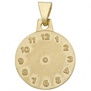 Basic Gold TG01 Kinder Anhänger Taufuhr 14 Karat (585) Gelbgold