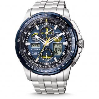 Citizen JY8058-50L Eco-Drive Promaster Sky Uhr Datum Blau