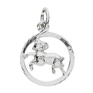 Basic Silber 24.9019SWI Damen Anhänger Sternzeichen Widder Silber
