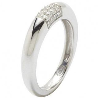 Fossil JF17955 Damen Ring JF 17955 Silber Zirkonia weiß Größe 53 (17, 0 mm)