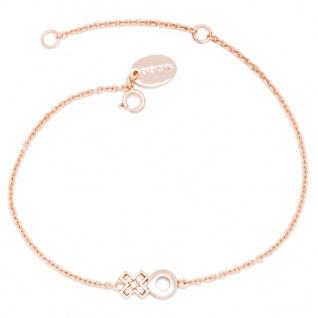 gooix 914-06503 Damen Armband XO Sterling-Silber 925 Rose Weiß 20 cm