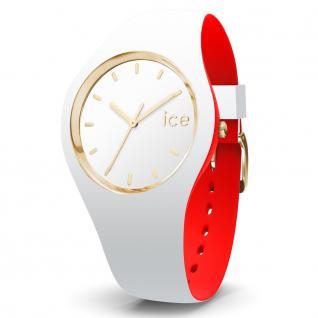 Ice-Watch 007239 Ice loulou white gold medium Uhr Damenuhr weiß
