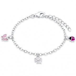 Prinzessin Lillifee 9082414 Mädchen Armband Charms Silber 14 cm