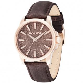 POLICE PL14800MSR-32 AURORA Uhr Damenuhr Lederarmband Braun