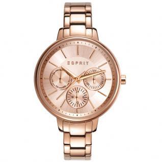 Esprit ESPRIT-TP10815 ROSE GOLD Uhr Damenuhr Edelstahl Datum rosé