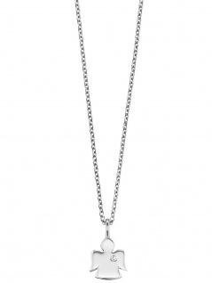 Herzengel HEN-ANGEL-ZI Mädchen Collier Silber Engel 41, 5 cm