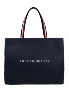 Tommy Hilfiger Damen Handtasche Tasche Tommy Shopper Tote Blau