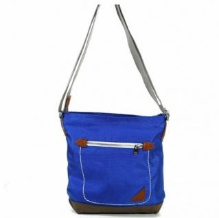 Esprit PAIGE Blau P15030-431 Damen Handtasche Tasche Schultertasche