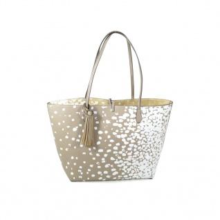 Desigual Bols Capri Salada Braun Handtasche Henkel Tasche 2in1 Shopper