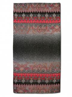 Desigual Damen Schal Stola NEW FREYA Polyester 194cm Schwarz 18WAWW10