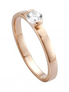 Esprit ESRG00531617 Damen Ring Bright Rose Weiß 53 (16.9)