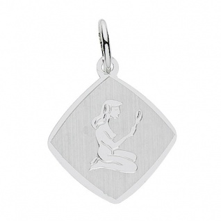 Basic Silber 24.9018SJU Damen Anhänger Sternzeichen Jungfrau Silber