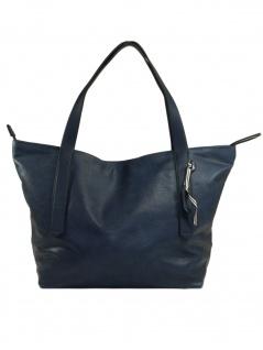 Esprit Damen Handtasche Tasche Henkeltasche Ruby shopper Blau