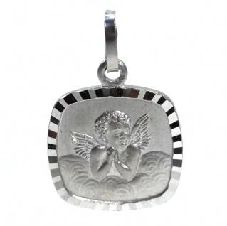 Basic Silber 22.231 Kinder Anhänger Schutzengel Silber