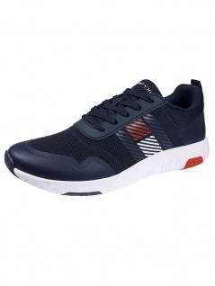 Tommy Hilfiger Schuhe Lightweight Runner Flag Mix Blau Sneakers