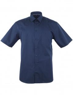 Eterna Herren Hemd Kurzarm Modern Fit XXL/46 Blau 3072/19/C19P