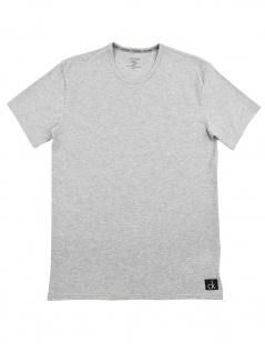 Calvin Klein Herren T-Shirt Kurzarm S/S Crew Neck NB1164E-080 Grau S