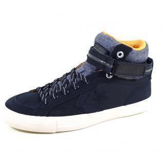 Converse Herren Schuhe Pro Blaze Plus Hi Schwarz 153736C Sneakers 42