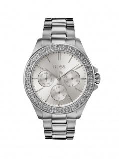 Hugo Boss 1502442 PREMR Uhr Damenuhr Edelstahl Datum Silber