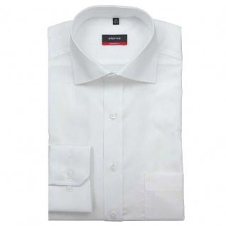 Eterna Herrenhemd Langarm 1100/00/X187 Modern Fit Weiß Gr. L/42