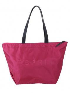 Esprit Damen Handtasche Tasche Shopper Cleo Shopper Pink