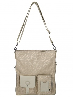 Esprit Handtasche Tasche Schultertasche Coy Flap Shoulderbag Beige