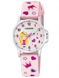 Calypso K5776/2 Uhr Mädchen Kinderuhr Kunststoff mehrfarbig