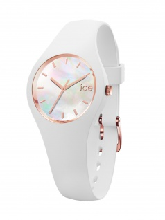 Ice-Watch 016934 ICE pearl white Extra small Uhr Damenuhr Weiß