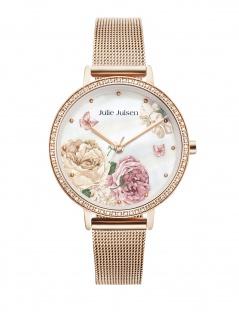 Julie Julsen JJW71RGME Limited Edition Secret-Garden Uhr Rose