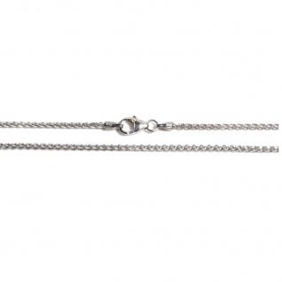 Basic Silber ZO02.30.38R Kette Zopf Baby Halskette Silber 38 cm